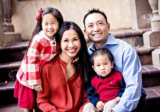 Dr. Hsu and her family